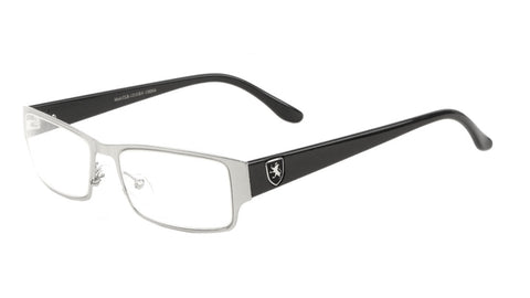 KHAN Rectangle Clear Lens Wholesale Eyewear
