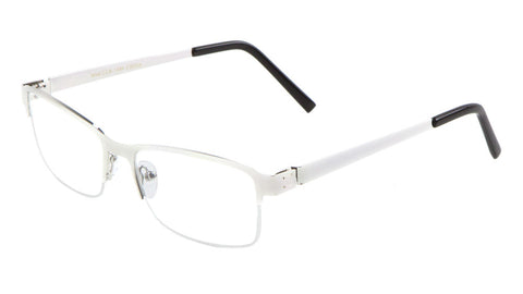 CLR-1484 - Rectangle Clear Lens Wholesale Bulk Glasses