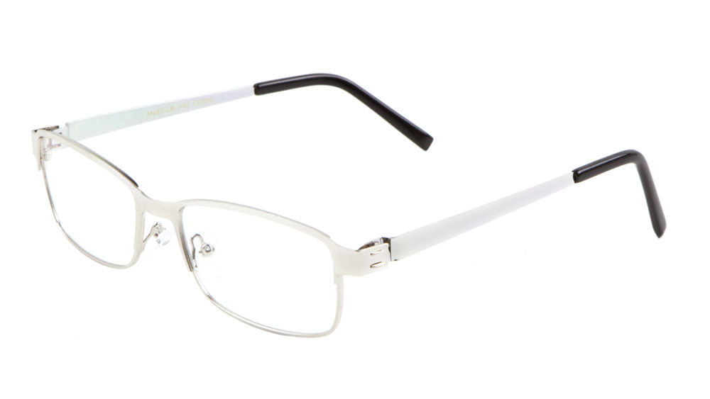 CLR-1485 - Rectangle Clear Lens Wholesale Bulk Glasses