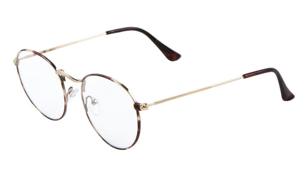 Curved Nose Butterfly Clear Lens Wholesale Bulk Glasses