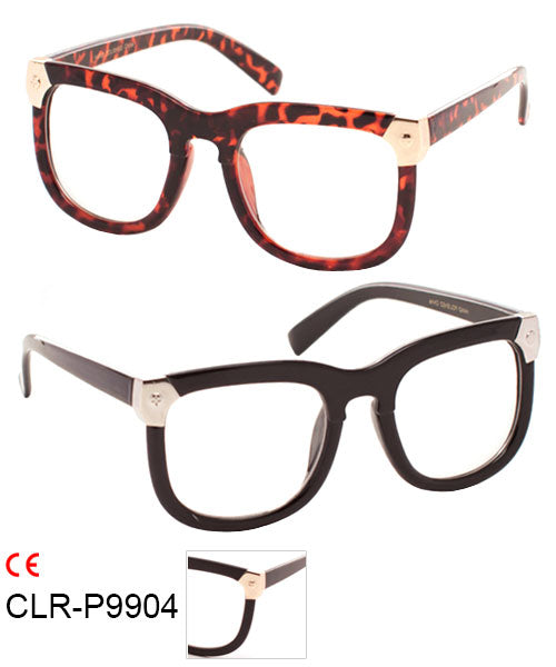 Cat Eye Clear Lens Wholesale Bulk Glasses