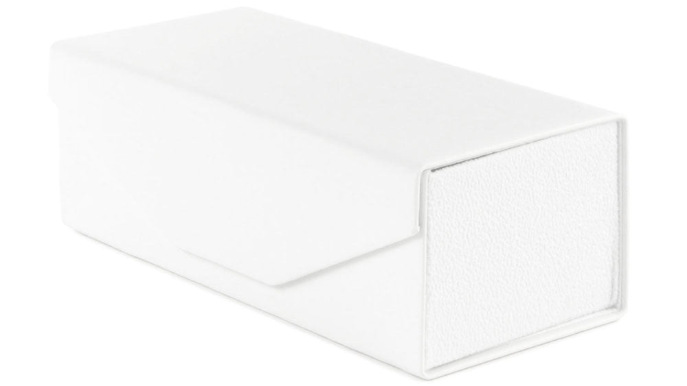 White Collapsible Rectangle Wholesale Bulk Hard Case