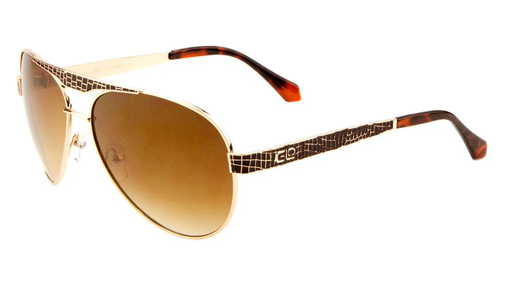 GLO Aviators Wholesale Bulk Sunglasses