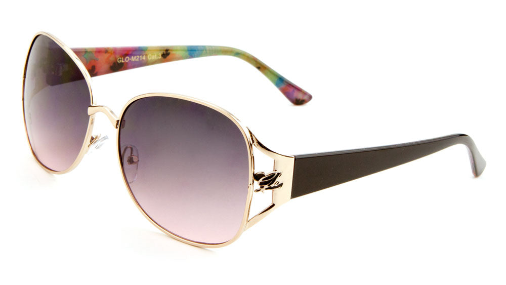 GLO-M214 - GLO Butterfly Wholesale Bulk Sunglasses