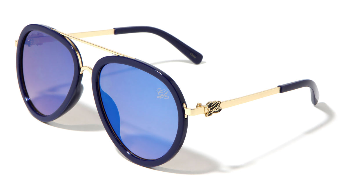 GLO Aviators Wholesale Sunglasses