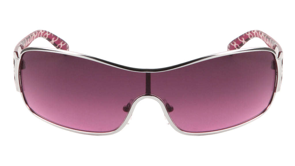 GLO Solid One Piece Lens Wholesale Bulk Sunglasses
