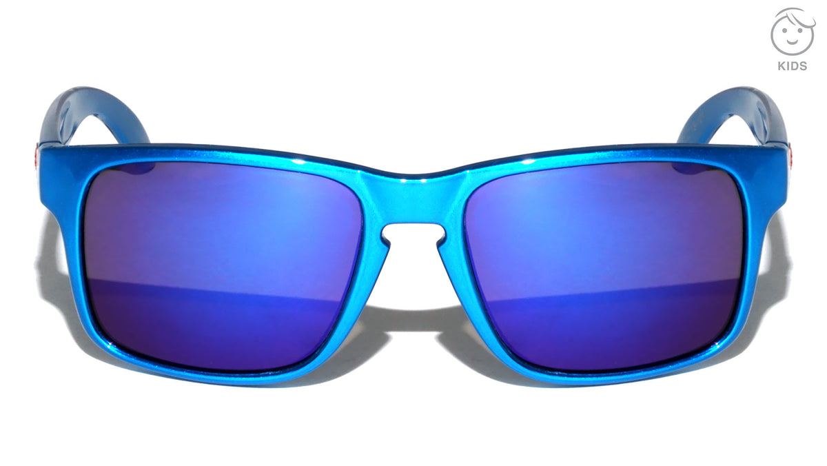 KHAN Kids Classic Color Mirror Wholesale Sunglasses