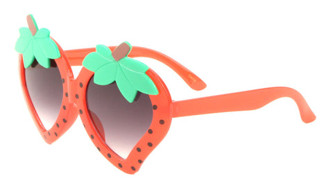K819 - Kids Strawberry Wholesale Bulk Sunglasses