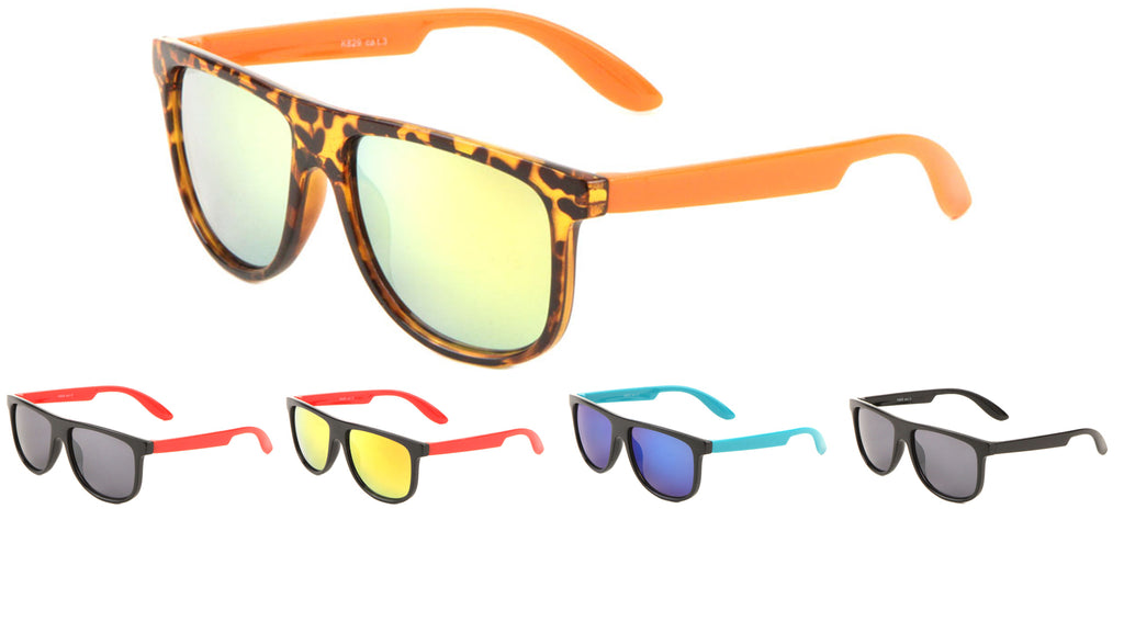 Kids Flat Top Classic Wholesale Sunglasses