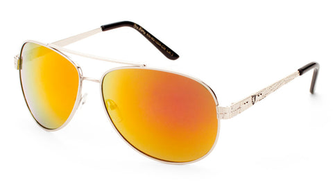 KHAN Aviators Color Mirror Sunglasses Wholesale