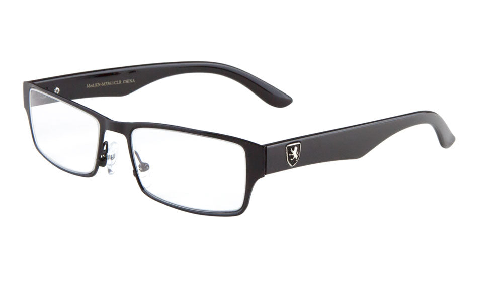 KHAN Rectangle Clear Lens Wholesale Glasses