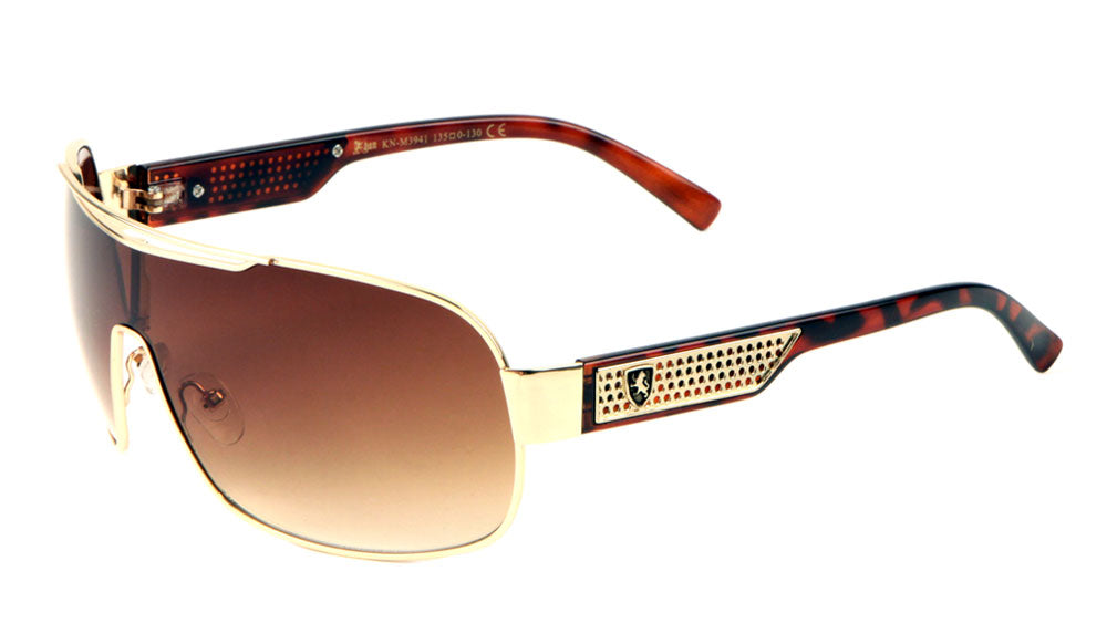 KHAN One Piece Shield Sunglasses Wholesale