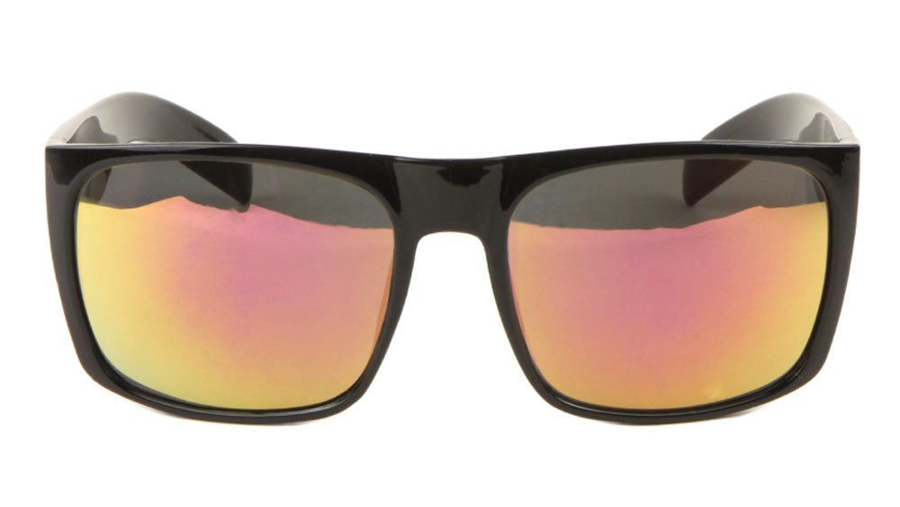 KHAN Classic Color Mirror Bulk Wholesale Sunglasses