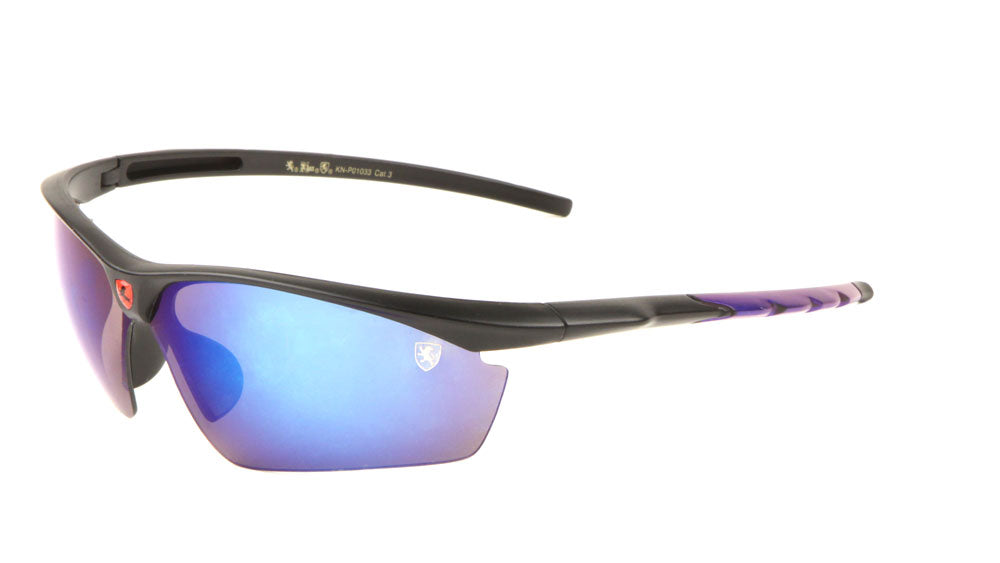 KHAN Wholesale Semi-Rimless Sports Sunglasses