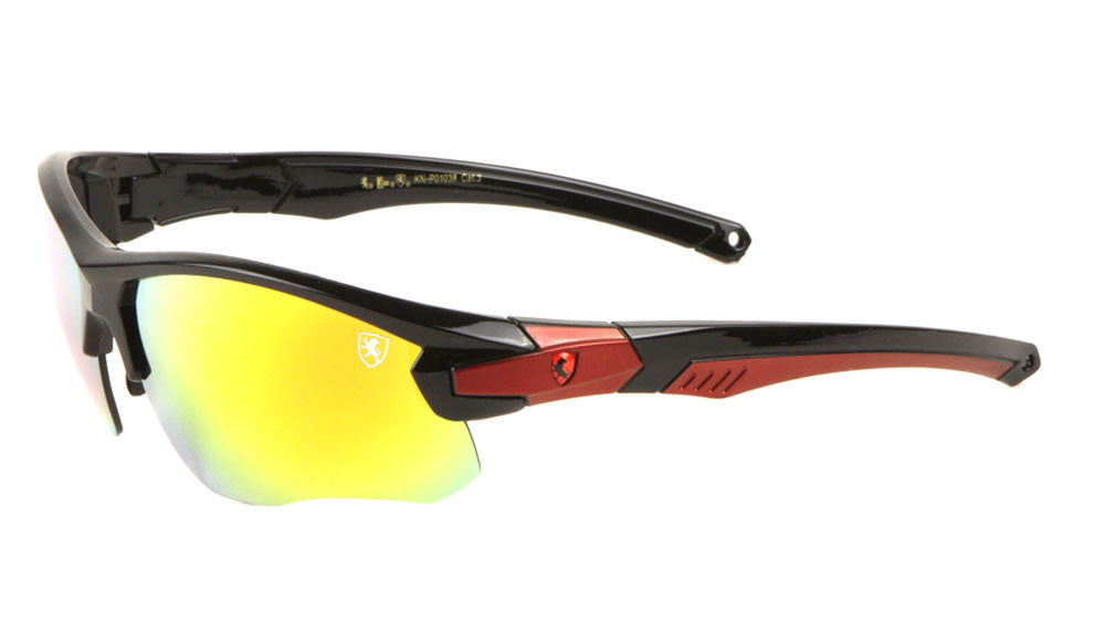 KHAN Sports Semi-Rimless Sunglasses Wholesale