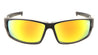 KHAN Top Cut-Out Sports Wrap Sunglasses Wholesale