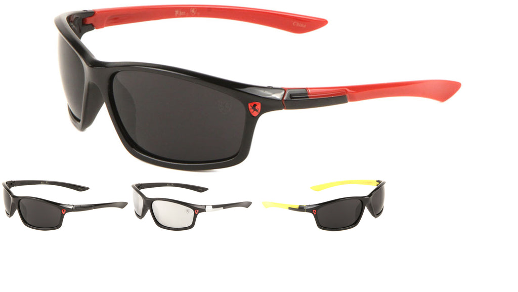 KHAN Wrap Sports Wholesale Sunglasses