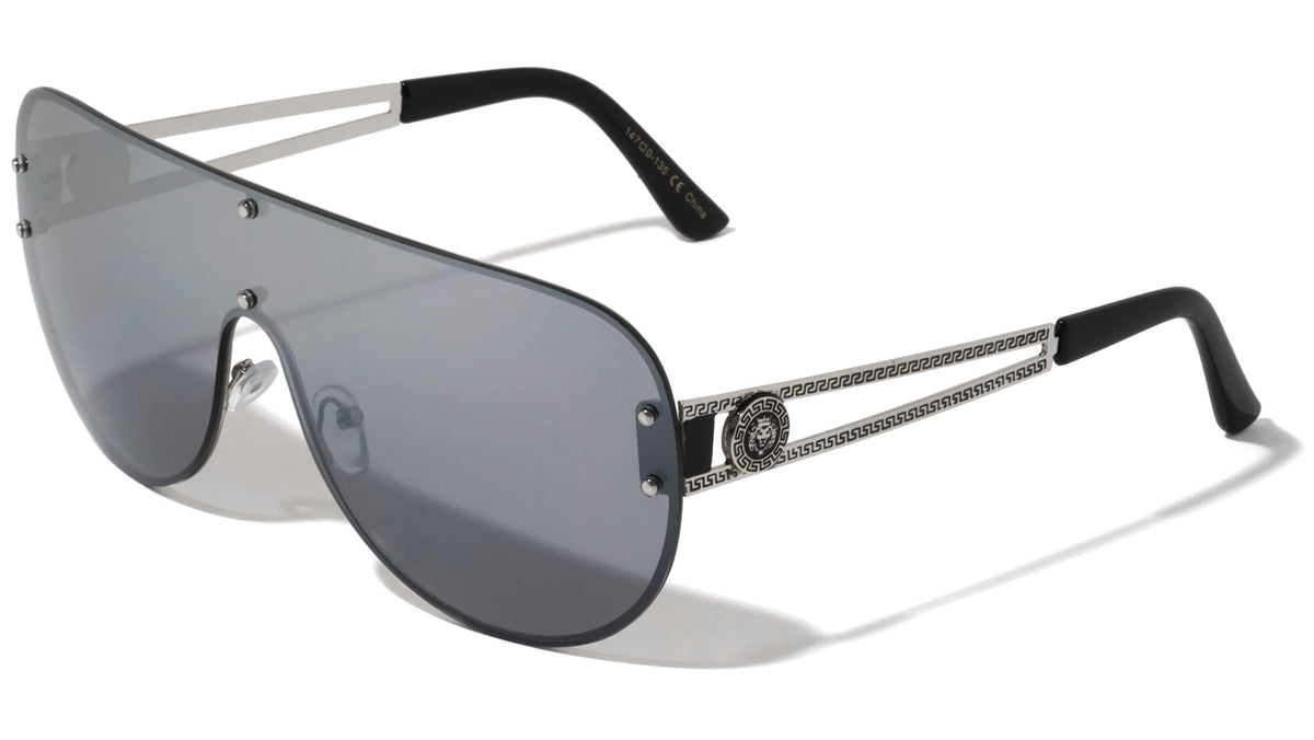 KLEO Rimless Shield Sunglasses Wholesale