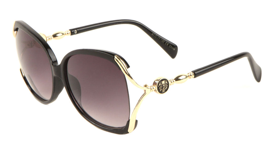 KLEO Cut Out Fashion Butterfly Sunglasse Wholesale