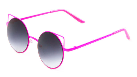 M10025 - Round Cat Eye Wholesale Bulk Sunglasses