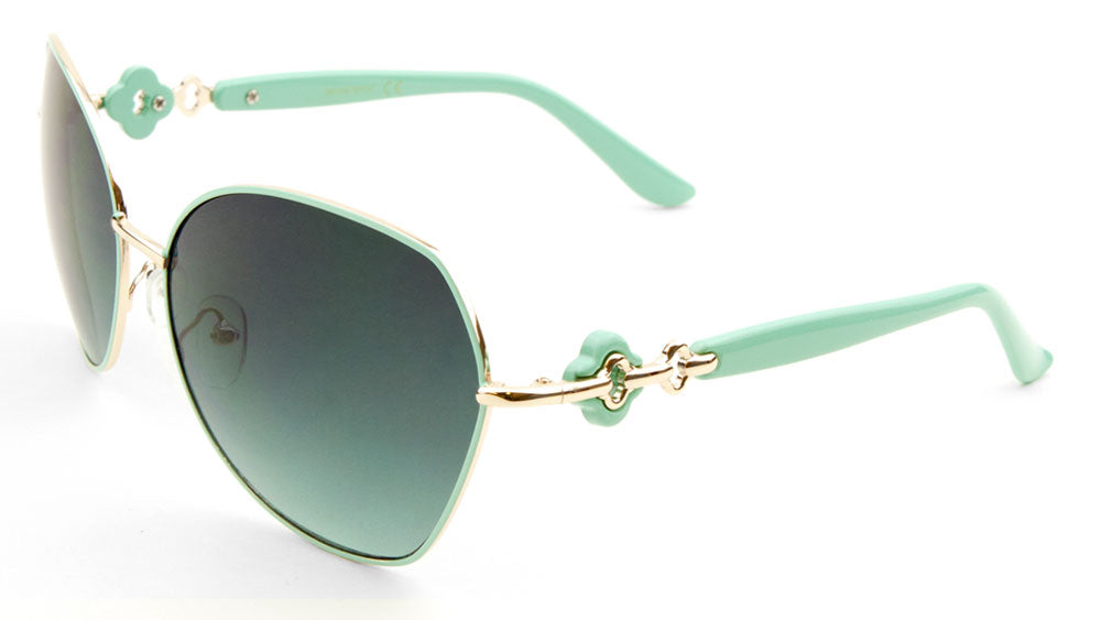Butterfly Oceanic Color Fashion Wholesale Sunglasses