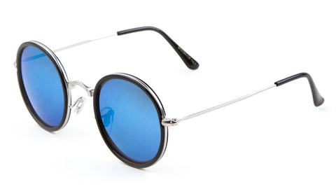 M10164-CM - Round Color Mirror Wholesale Bulk Sunglasses