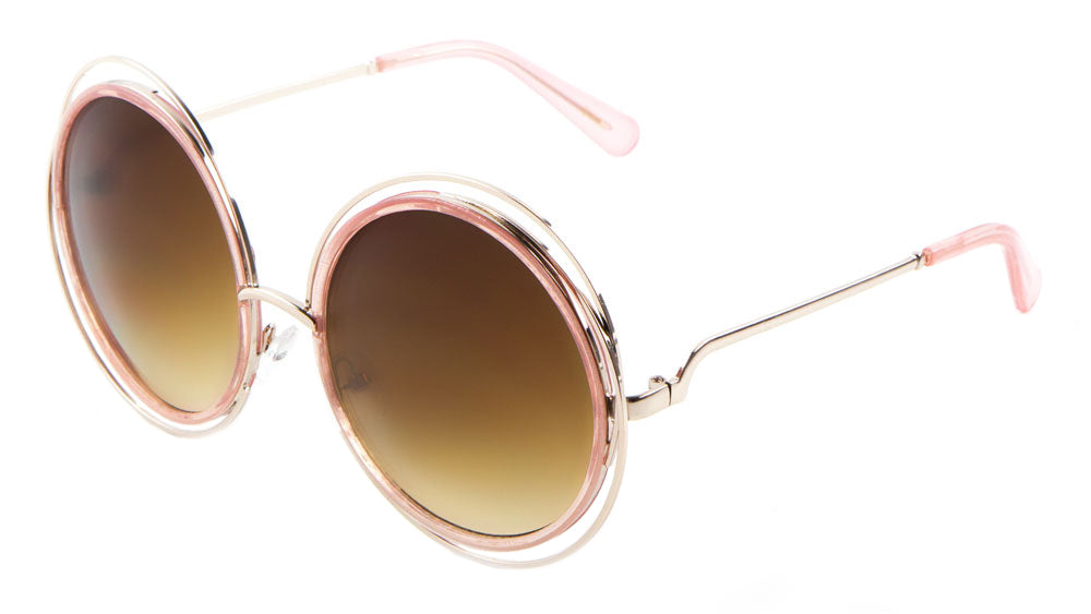 Accent Ring Round Wholesale Bulk Sunglasses