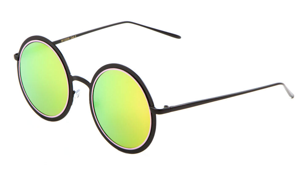 Round Metal Wholesale Sunglasses