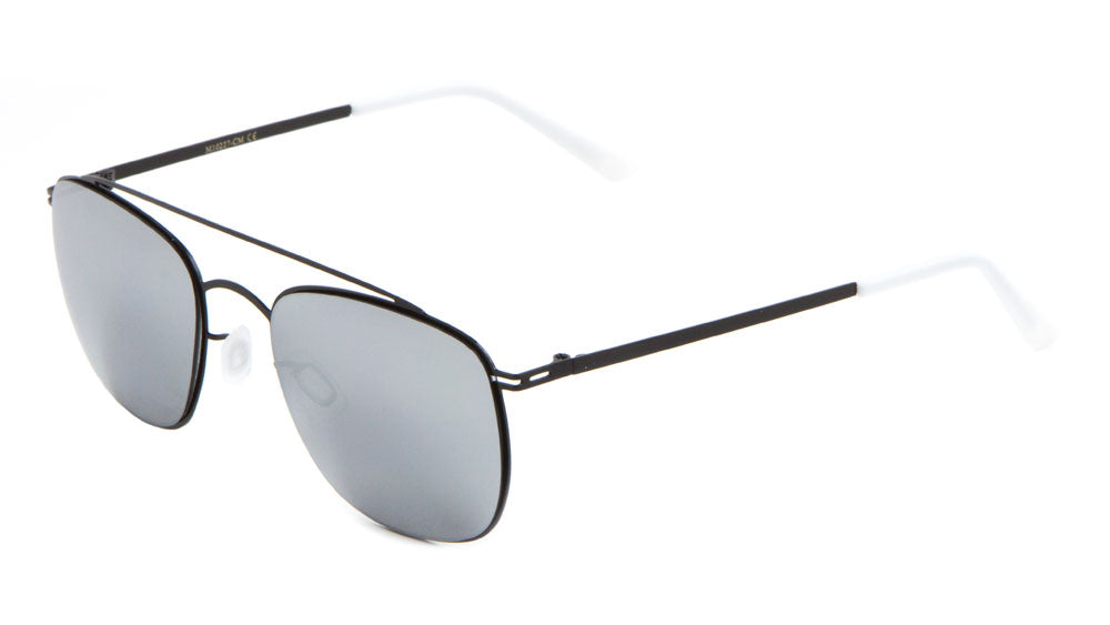 Aviators Color Mirror Wholesale Sunglasses