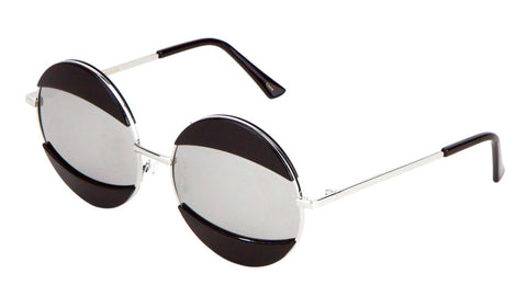 M10266 - Round Brow & Lip Accent Wholesale Bulk Sunglasses