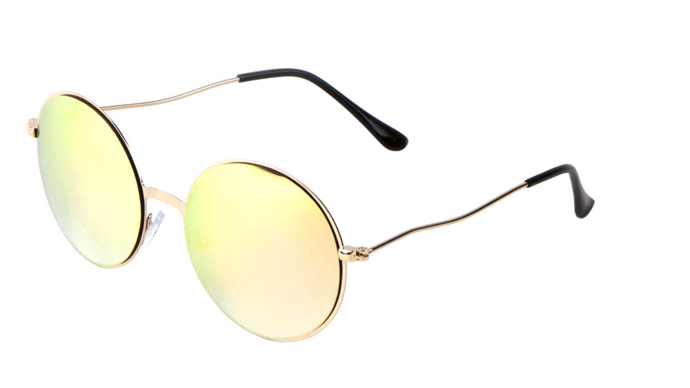 Round Color Mirror Sunglasses Wholesale