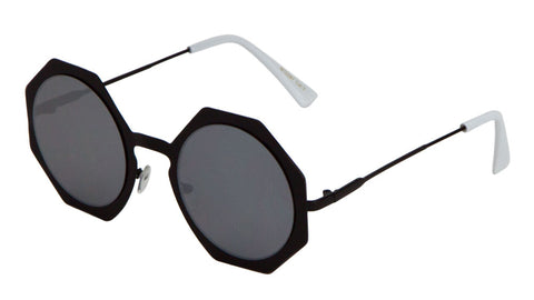 M10287 - Round Octagon Wholesale Bulk Sunglasses