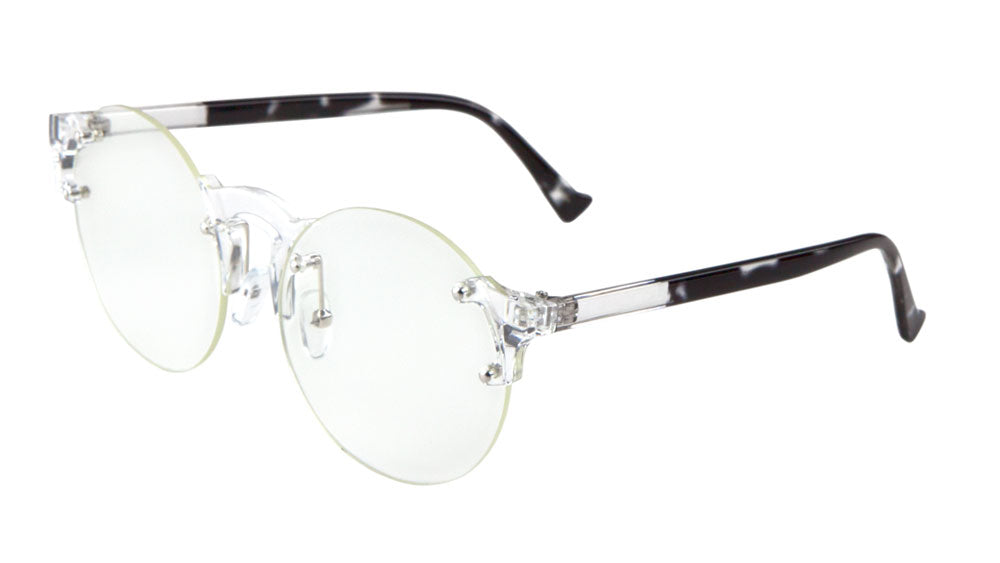 Rimless Retro Clear Lens Wholesale Bulk Glasses