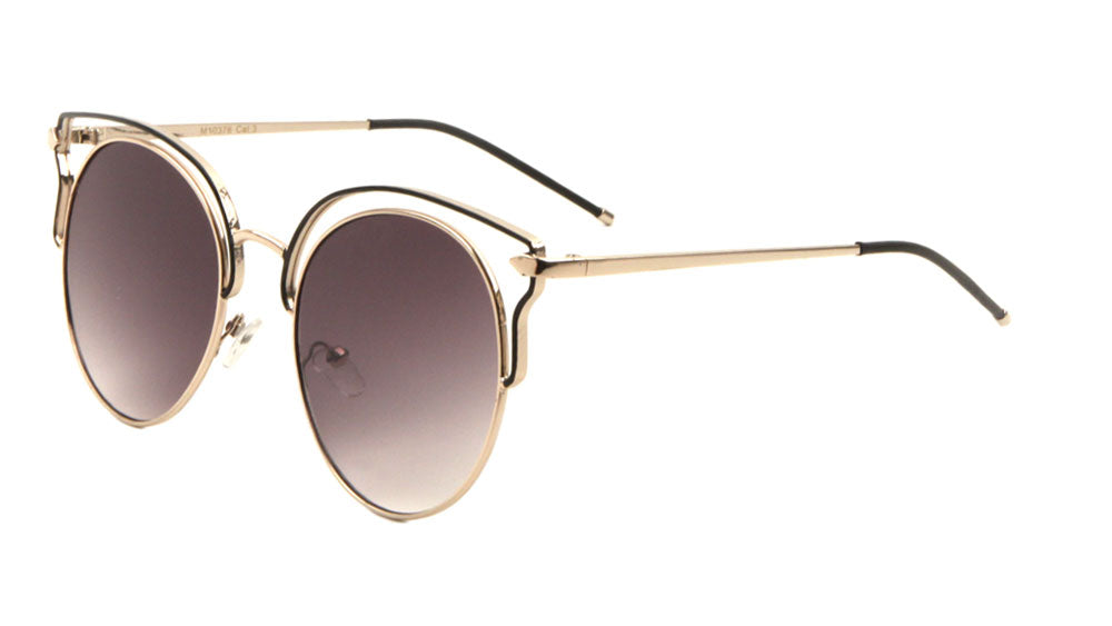 Retro Style Brow Line Wholesale Bulk Sunglasses