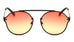 M10454-OC - Rimless Bridgeless Oceanic Color Wholesale Bulk Sunglasses
