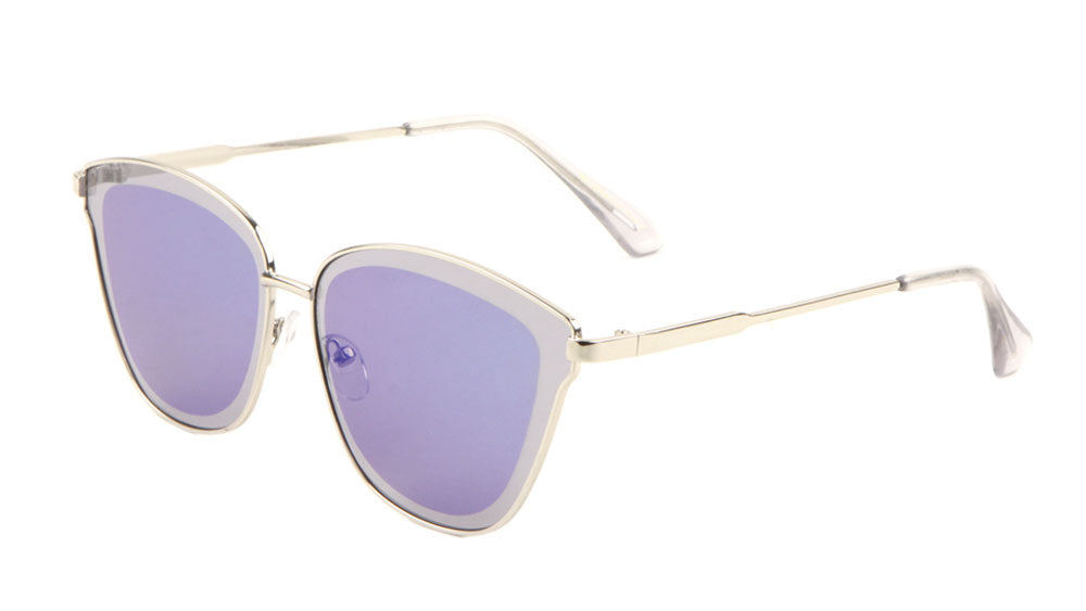 Retro Color Mirror Wholesale Bulk Sunglasses