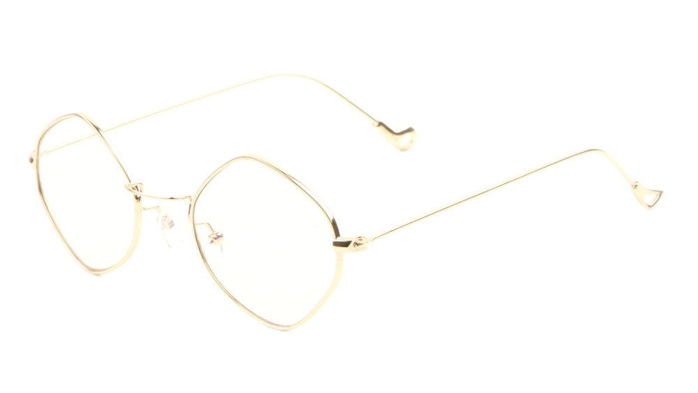 Thin Diamond Clear Lens Wholesale Bulk Glasses