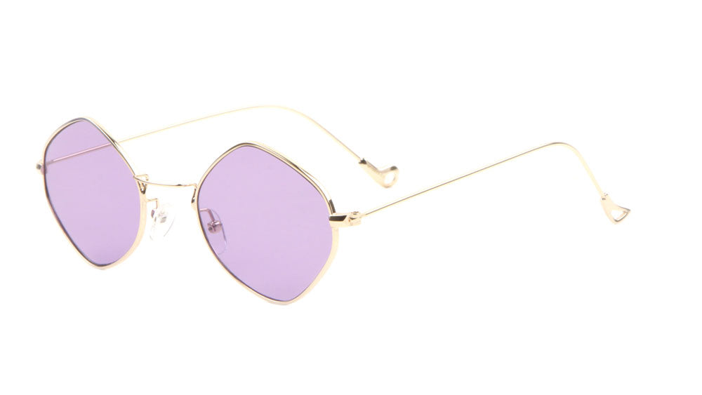 Thin Diamond Color Lens Wholesale Bulk Sunglasses