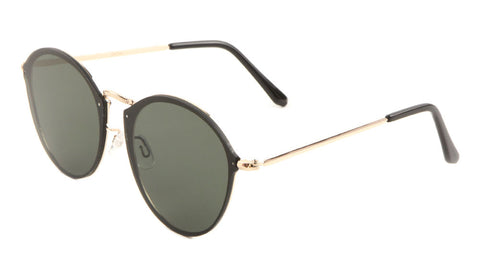 Rimless Color Mirror Cat Eye Wholesale Bulk Sunglasses