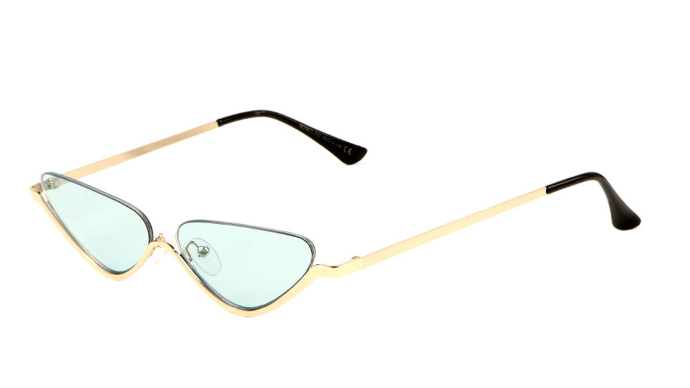 Half Moon Color Lens Sunglasses Wholesale