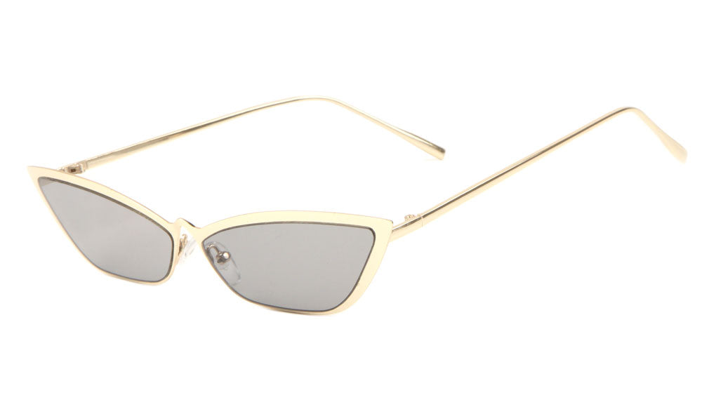 Thin Cat Eye Pointed Nose Sunglasses Wholesale