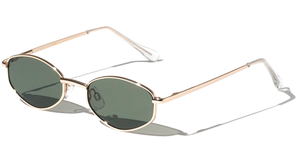 Thin Diamond Spring Hinge Sunglasses Wholesale