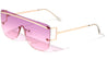 Rimless Shield Wholesale Sunglasses