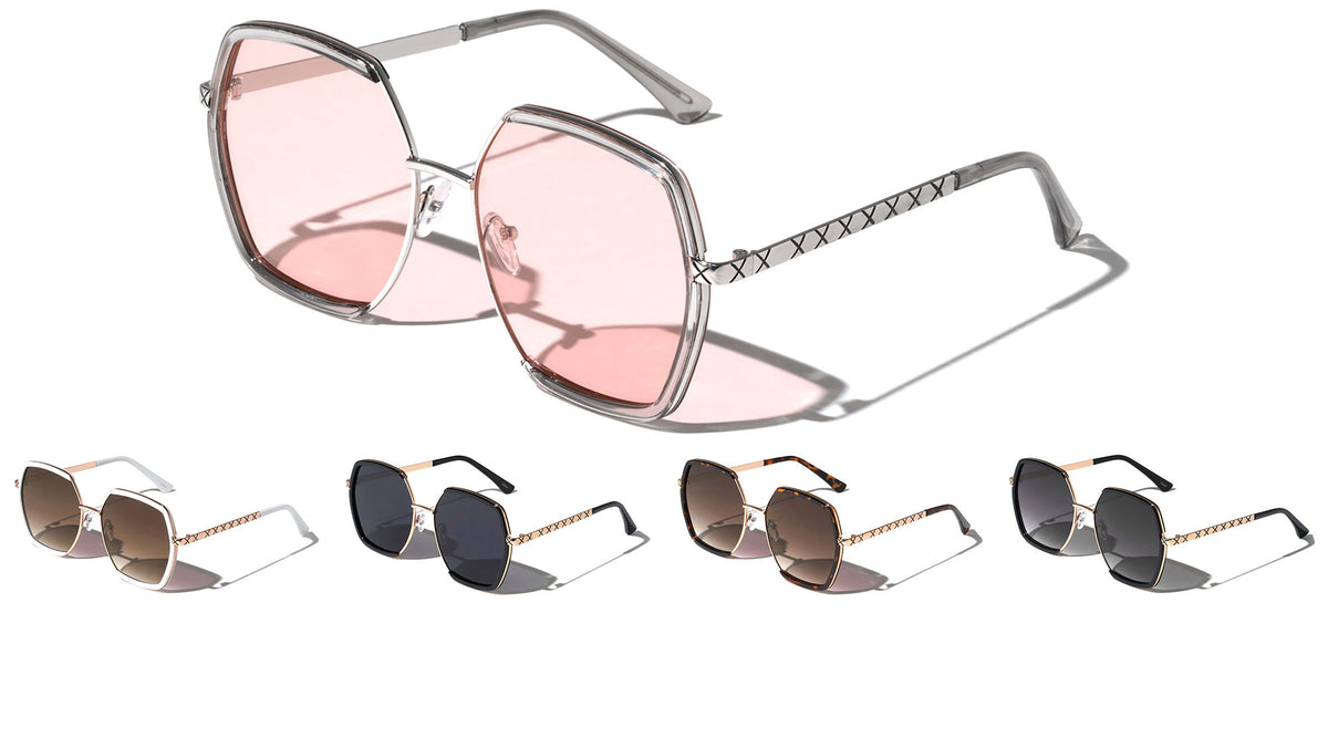 Butterfly X Temple Wholesale Sunglasses