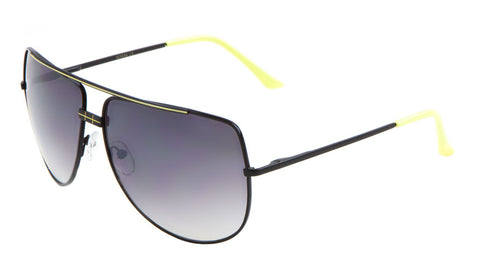 Flat Top Sping Hinge Aviators Wholesale Bulk Sunglasses