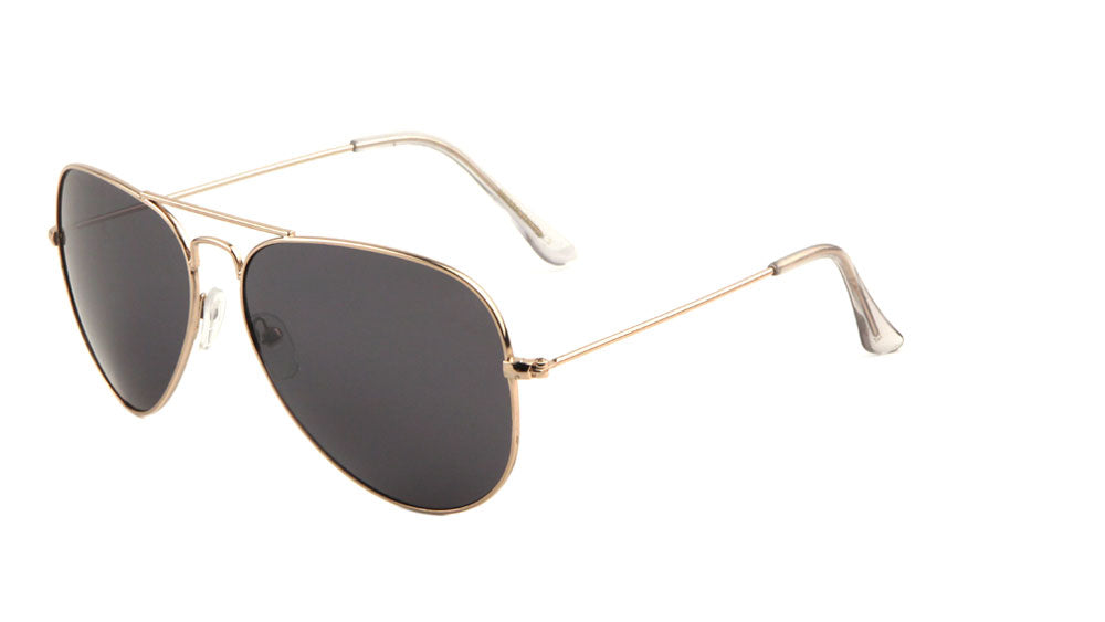 Aviators Color Mirror Lens Short Brow Bar Sunglasses Wholesale