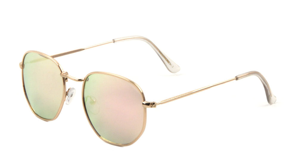 Butterfly Color Mirror Sunglasses Wholesale