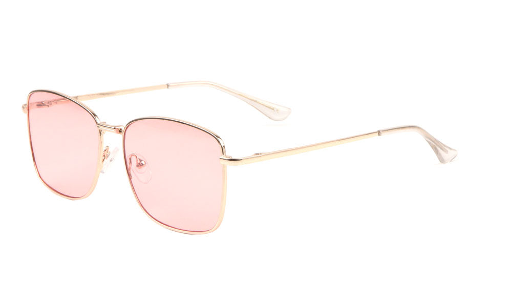 Spring Hinge Oceanic Color Lens Buttefly Sunglasses Wholesale
