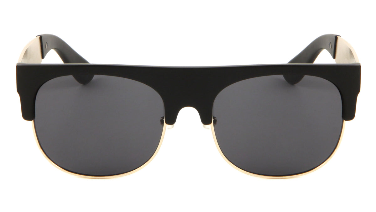 Flat Top Leaf Temple Wholesale Bulk Sunglasses
