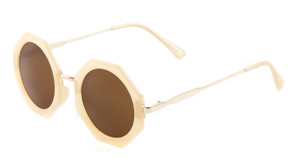 Round Octagon Wholesale Bulk Sunglasses